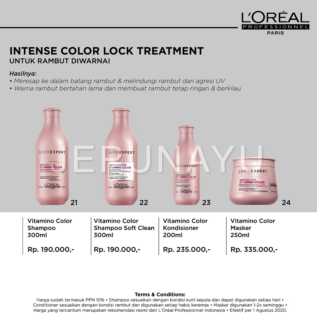 Intense Color Lock Treatment