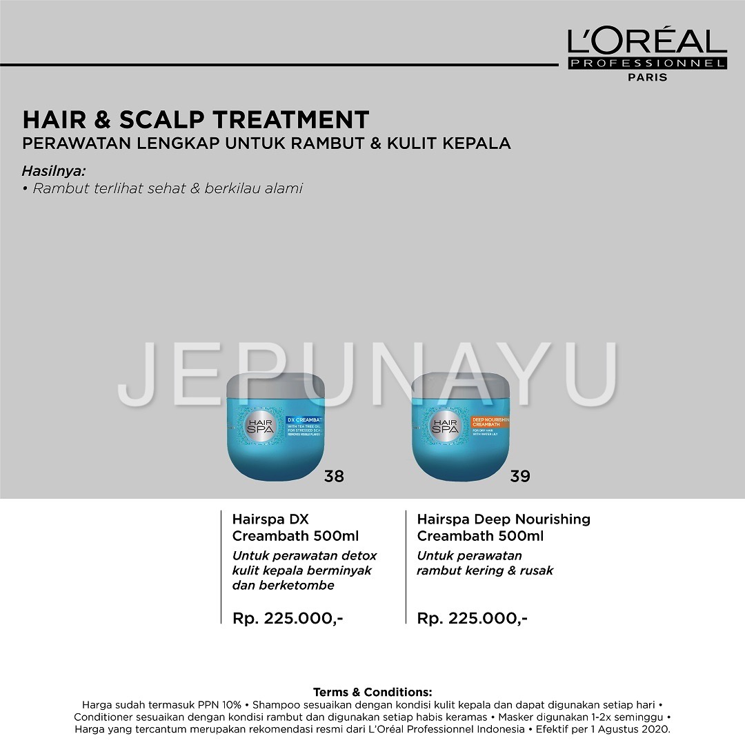 Hair & Scalp Treatment