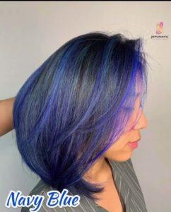Color Mask Navy Blue
