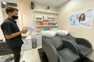 Sanitizing Tempat dan Peralatan
